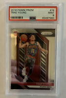 2018 Panini Prizm Trae Young Rookie RC 71 PSA 9