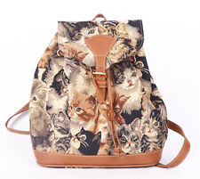 Tapestry Cats & Kittens design Small Backpack by Signare