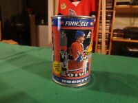 1997-98 PINNACLE INSIDE SAKU KOIVU HOCKEY CARDS IN A CAN