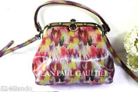 Vintage Colorful Rare Jean Paul Gaultier Framed Small Hand Shoulder Sling Bag