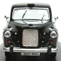 Rare 1:43 Austin FX3 1958 London Taxi Black Cab Diecast Model Classic Car 1/43