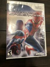 Wii The Amazing Spiderman New & Factory Sealed
