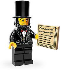 LEGO MOVIE ABRAHAM LINCOLN MINIFIGURE NEW