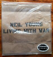 Neil Young~Living with War~Factory Sealed Classic Records 200gm Quiex SV-P LP