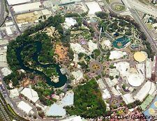Aerial View of Disneyland, Anaheim, California - Giclee Photo Print