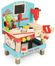 NEW Le Toy Van Kids Wooden My First Tool Bench with Tools