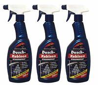 3 x 750ml Elsterglanz Duschkabinen Schaumspray, Duschkabinenreiniger Spray