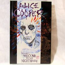 Dynamite Alice Cooper Welcome to My Nightmare Vol #1 HC Graphic Novel