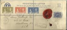 Seychelles Registered Postal Envelope HG:C3b(size H2)uprated SG#132-134