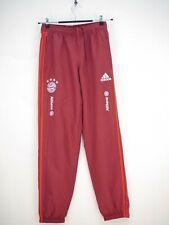 Adidas FC Bayern München Trainingshose Jogginghose Rot Damen Größe S