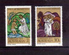 AUSTRALIA 1973 Christmas set MUH
