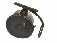 "Malloch of Perth Patent 4"" alloy & brass side casting reel c 1910 with good f..."