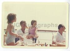 "John F. Kennedy w/ Caroline 1963 Vintage 5x7"" Cecil Stoughton Photo in Hyannis"