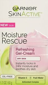 Garnier Skinactive Moisture Rescue DRY SKIN Face Moisturizer 1.7 oz (50g) - UK