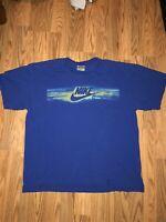 Vintage Nike Y2K Box Logo T-Shirt Large