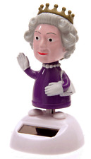 Solar Powered Dancing / Waving Queen Figure - BNIB
