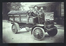 REAL PHOTO KNOXVILLE TENNESSEE COCA COLA DELIVERY TRUCK POSTCARD COPY CANDY