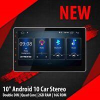 AUTORADIO Navigatore GPS 2 DIN Android 10 Wi-Fi 4G DSP XTRONS TSD100L 10 pollici