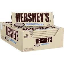 Hershey's Cookies N' Creme White Chocolate Candy 1.55 oz, 36 ct Box Super Fresh