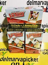 2010-11 Upper Deck Victory Hockey Blister Box  Lot of 3
