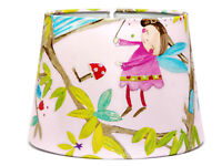 Fairy Fairies Lampshade Ceiling Light Shade Princess Woodland Girls Bedroom Pink