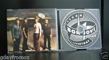Bon Jovi - Everyday 4 Track CD Single Incl Video