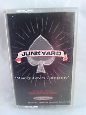 "Junkyard - ""Misery Loves Company"" Rare Promo single with coupon. 1991 cassette"