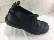 Dr. Doc Martens Black Leather Industrial Boots Shoes Men's Size 13M