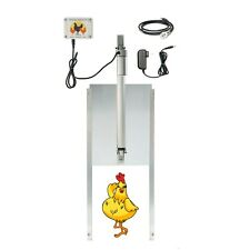 Happy Henhouse Automatic Chicken Coop Door Opener Kit - Electric Auto Door Guard