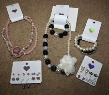 NWT The Children's Place Girl's Huge Jewelry LOT Necklace Bracelet Earrings
