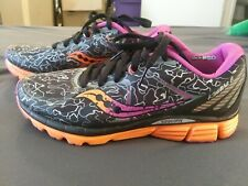 womens saucony kinvara 6 running/walking shoes size 8.5, exercise, low, natural