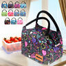 Portable New Insulated Thermal Cooler Lunch Box Tote Bag Picnic Storage Pouch