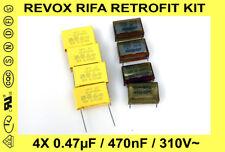 KIT RÉTROFIT REVOX A77 / B77 / PR99 - REMPLACEMENT CONDENSATEURS RIFA