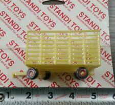 1/64 ertl farm toy yellow agco Minneapolis Moline standi hay bale throw wagon