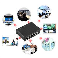 5 Port Gigabit LAN Switch 10/100/1000 Mbit/s Netzwerk Verteiler Hub ~I