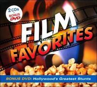 FILM FAVORITES [Digipak] by Various Artists (CD, Jul-2010, 3 Discs, Madacy)