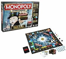 Monopoly Ultimate Banking Family Game Tap Touch Technology by Hasbro