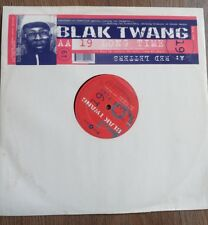 "Blak Twang - 19 long time/ red letters 12"" Vinyl"