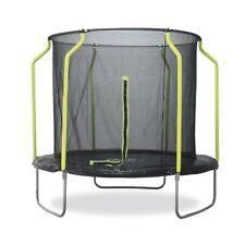 Plum Galvanized Steel 10ft Trampoline With Safety Net Enclosure