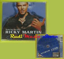 CD Singolo RICKY MARTIN Shake your bon-bon SIGILLATO 1999 no lp mc dvd (S13)
