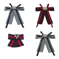 MUJER LAZO Broche Cristal Colgante Alfiler corbata DIAMANTE IMITACION CINTA
