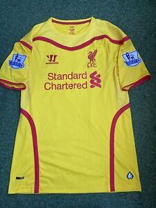 Liverpool FC Match Worn Shirt Jersey 2014/15 #50 Markovic Premier League Serbia