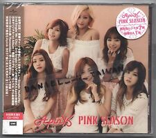 Apink: Pink Season - FIRST JAPANESE ALBUM (2015) Japan / CD & DVD & CARD TAIWAN