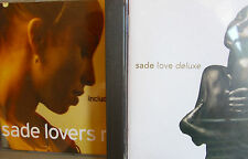 Sade- Love Deluxe/ Lovers Rock- 2 CDs SONY 1992/2000