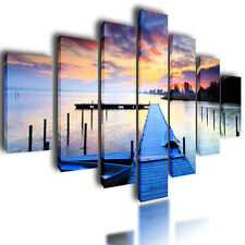 """HUGE XXL CANVAS PRINTS WALL ART PICTURES BLUE IMAGE LAKE PHOTO PAINTINGS 80"""""""