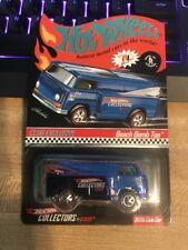 HOT WHEELS RLC 2006 BEACH BOMB TOO BLUE CLUB CAR WITH BUTTON 2201/6000 HD