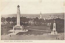 PLYMOUTH( Devon) :Plymouth Naval War Memorial and Armada Statue