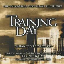 Training Day: Enhanced Preview CD PROMO w/ Artwork MUSIC AUDIO CD Soundtrack 5tk