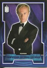 Doctor Who 2015 Purple Parallel [99] Base Card #149 Professor Richard Lazarus