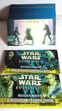 STAR WARS Episode 1 Ser 2 Wide-Vision Set of 80 Cards w Wrappers-FREE S&H(KATC)